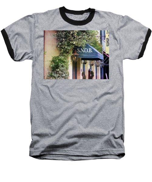Snob Baseball T-Shirt