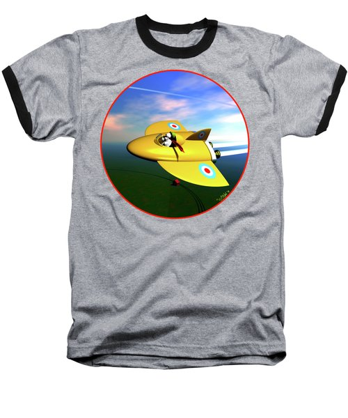 Snoopy The Flying Ace Baseball T-Shirt