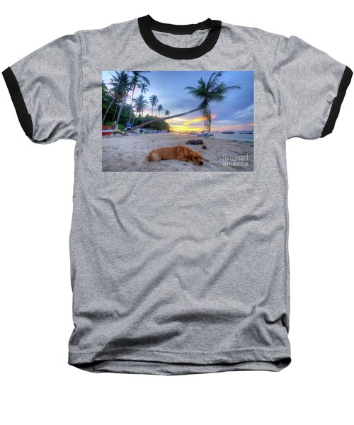 Baseball T-Shirt featuring the photograph Snooze by Yhun Suarez