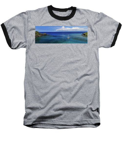 Snorkeling In Maui Baseball T-Shirt by James Eddy
