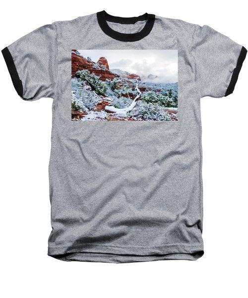 Snow 05-024 Baseball T-Shirt by Scott McAllister