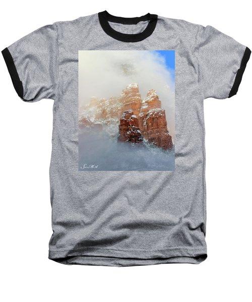 Snow 07-102 Baseball T-Shirt by Scott McAllister