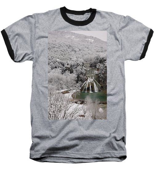 Snow And Turner Falls 2 Baseball T-Shirt