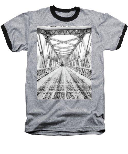 Snow Angles Baseball T-Shirt