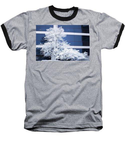 Snow Art Baseball T-Shirt