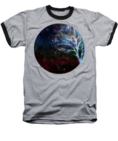 Snow At Twilight Baseball T-Shirt