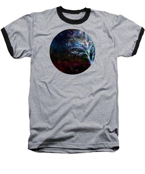 Snow At Twilight Baseball T-Shirt