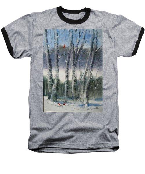 Snow Birch  Baseball T-Shirt