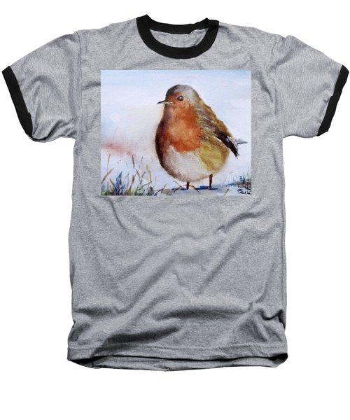 Snow Bird Baseball T-Shirt by William Reed