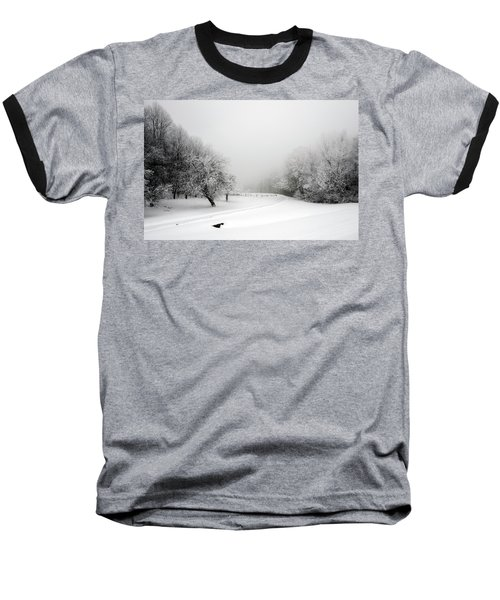 Snow Bound Baseball T-Shirt