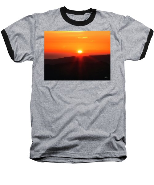 Baseball T-Shirt featuring the photograph Snow Camp View 2 by Leland D Howard
