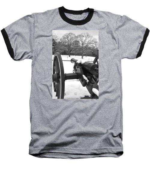 Snow Canon Baseball T-Shirt