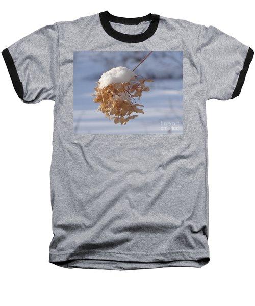 Snow-capped II Baseball T-Shirt by Christina Verdgeline