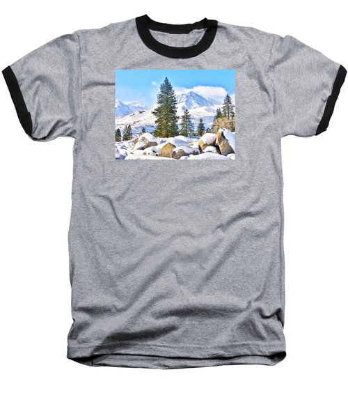 Snow Cool Baseball T-Shirt