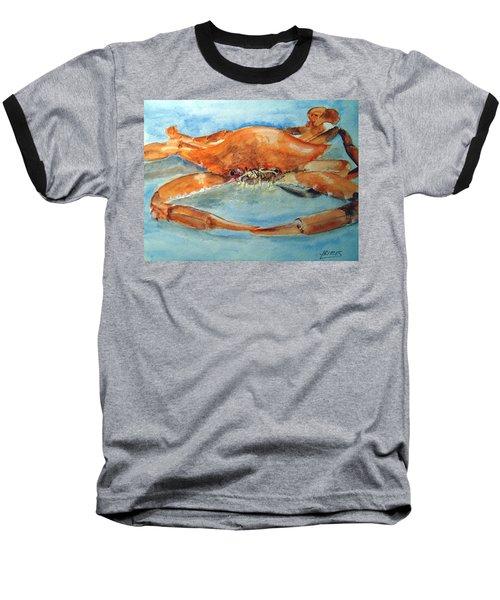 Snow Crab Is Ready Baseball T-Shirt