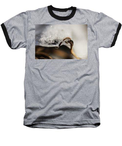 Snow Cryrstals Baseball T-Shirt