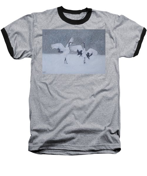 Snow Dancers Baseball T-Shirt