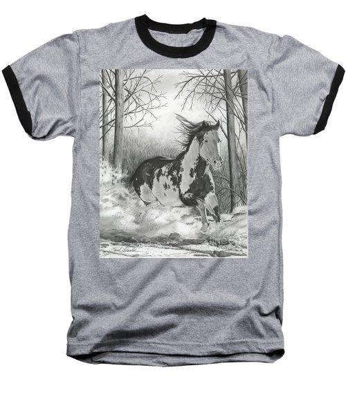 Snow Driftin' Baseball T-Shirt