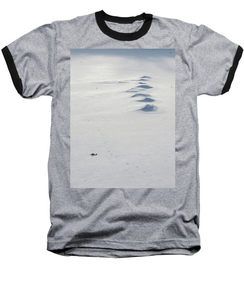 Snow Drifts Baseball T-Shirt
