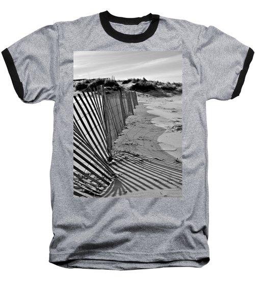 Snow Fence Baseball T-Shirt
