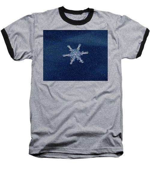 Snow Flake  Baseball T-Shirt