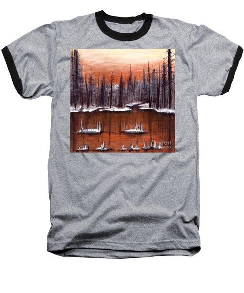 Snow Glow  Baseball T-Shirt