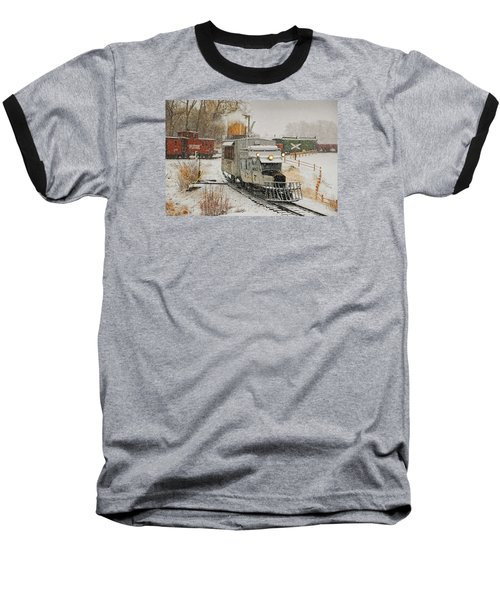Baseball T-Shirt featuring the photograph Snow Goose by Ken Smith