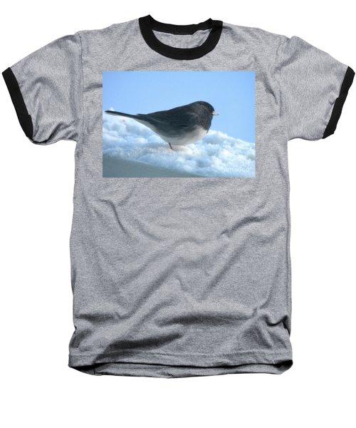 Snow Hopping #1 Baseball T-Shirt