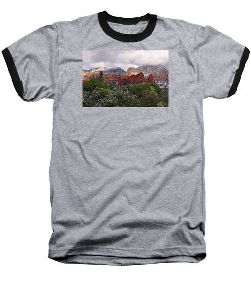 Snow In Heaven Baseball T-Shirt
