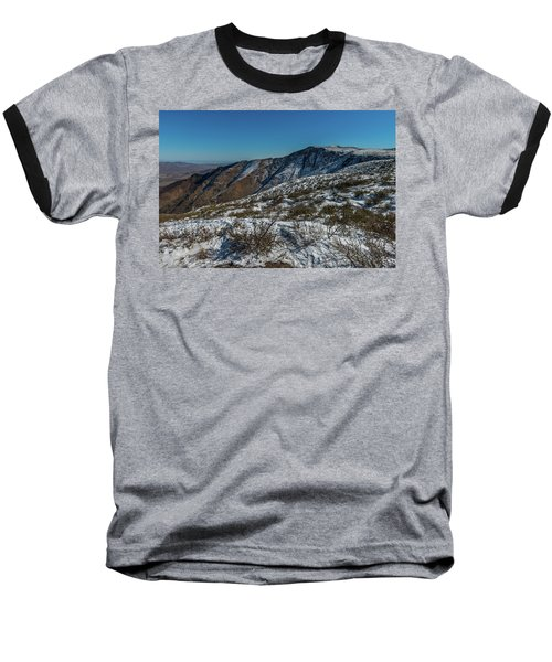 Snow In The Rain Shadow Baseball T-Shirt