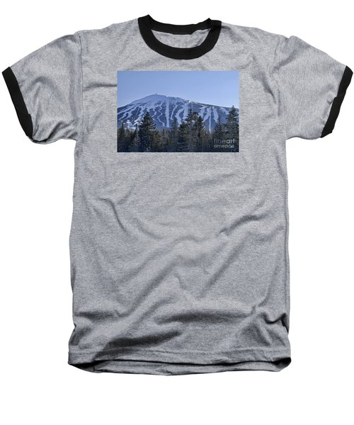 Snow On The Loaf Baseball T-Shirt by Alana Ranney