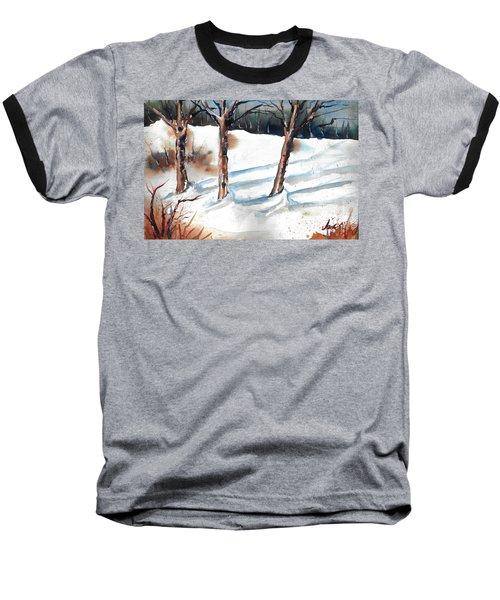 Snow Orchard Baseball T-Shirt