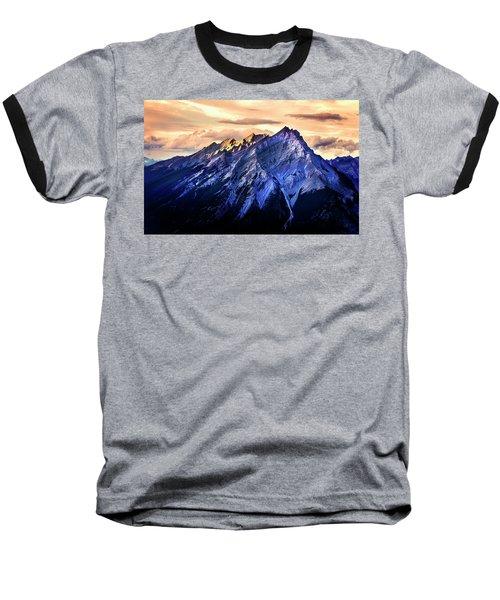Baseball T-Shirt featuring the photograph Mount Cascade by John Poon