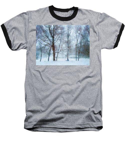 Snow Place Like Home Baseball T-Shirt