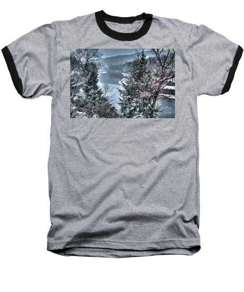 Baseball T-Shirt featuring the photograph Snow Squall by Tom Cameron