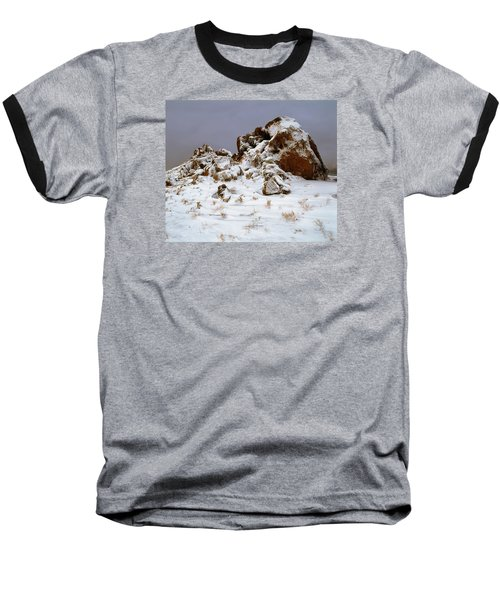 Snow Stones Baseball T-Shirt