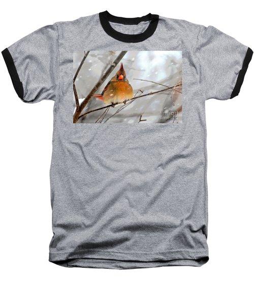 Snow Surprise Baseball T-Shirt