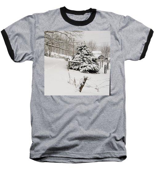 Snow Tree Baseball T-Shirt
