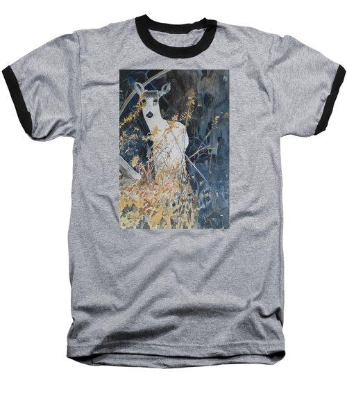 Snow White Baseball T-Shirt by Christine Lathrop