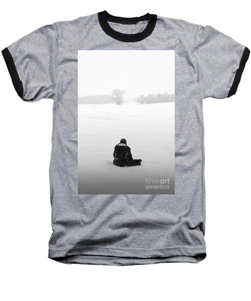 Baseball T-Shirt featuring the photograph Snow Wonder by Brian Jones