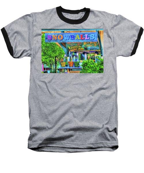 Snowballs And Lemonade Baseball T-Shirt