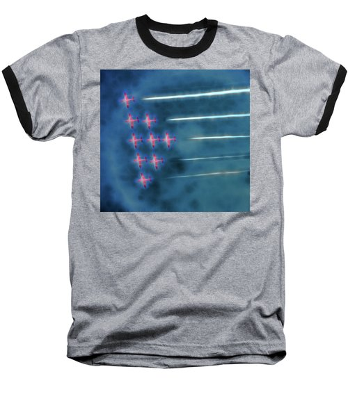 Snowbird Formation 1 Baseball T-Shirt
