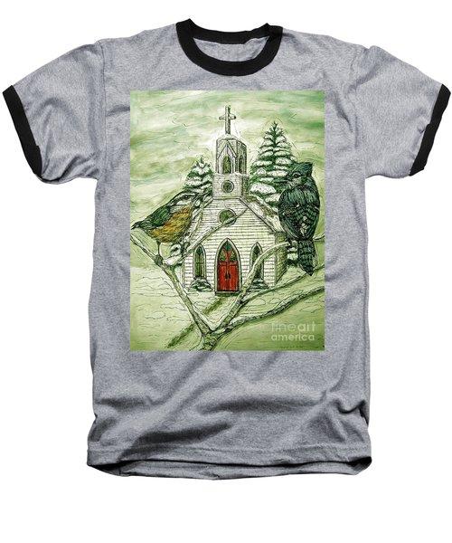 Snowbirds Visit St. Paul Baseball T-Shirt by Kim Jones
