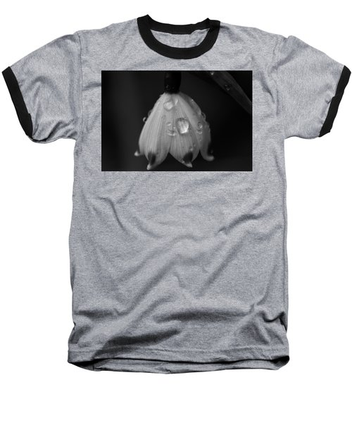 Baseball T-Shirt featuring the photograph Snowdrop by Keith Elliott