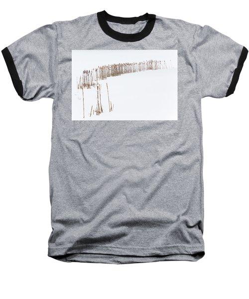 Snowfield 2 - Baseball T-Shirt