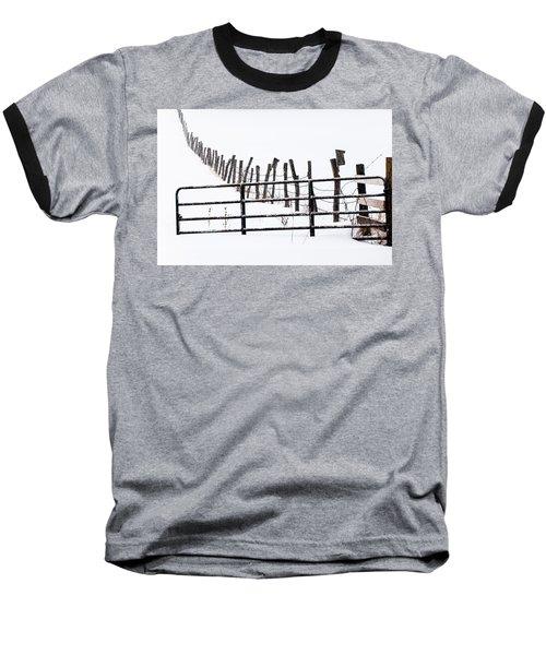 Snowfield Entry - Baseball T-Shirt