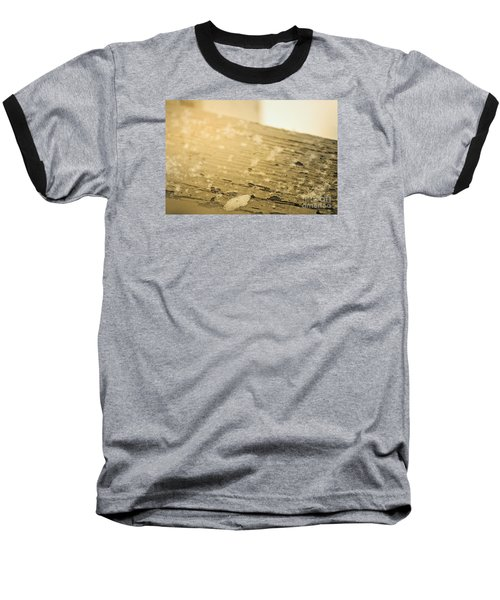 Snowflake Life Baseball T-Shirt by Janie Johnson