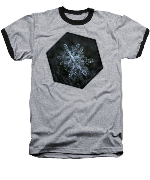 Baseball T-Shirt featuring the photograph Snowflake Of January 18 2013 by Alexey Kljatov