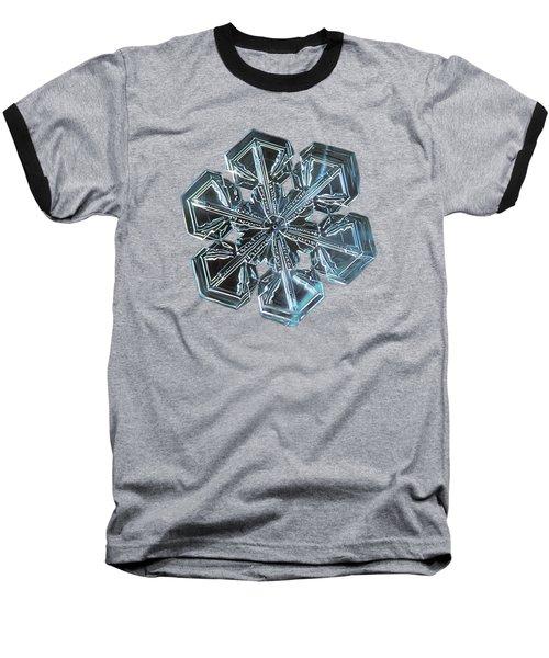 Snowflake Photo - Alcor Baseball T-Shirt