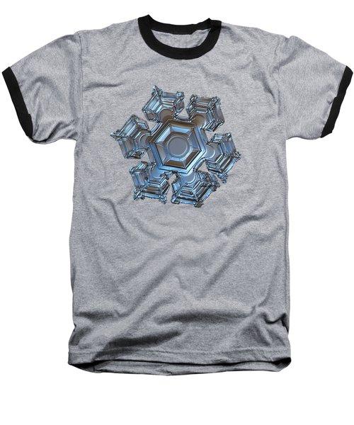 Snowflake Photo - Cold Metal Baseball T-Shirt